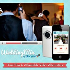 I may not be able to afford a videographer, but WeddingMix is something I can totally afford!!