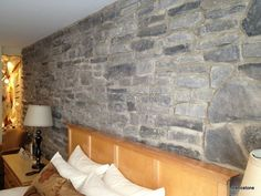 RS-1019 /RS-3019 The Ledge Rock, with its varied relief adds character to any room. This stone can be combined with the Valley Fieldstone.This traditional stone exudes wamth and rusticity. With its irregular shapes and varied textures, ranging from rugged to smooth with the occasional fossil, the Valley Fieldstone will always be in vogue