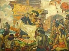 """See more works of the great Filipino artist, Carlos V. Francisco aka """"Botong"""", the father of modern arts in the Philippines. Filipino Art, Filipino Culture, Modern Art, Contemporary Art, Philippine Art, Historical Art, Heaven On Earth, Pinoy, Great Artists"""