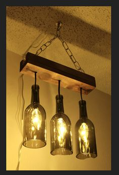 more bottle lamps