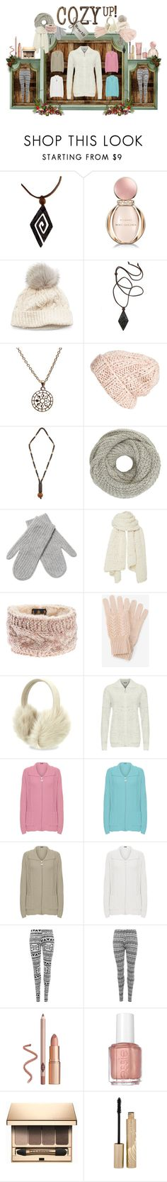 """❄ ❅ Cosy Up! ❅ ❄"" by wearall ❤ liked on Polyvore featuring CoffeeShop, NOVICA, Bulgari, SIJJL, Puck Wanderlust, Free People, John Lewis, White + Warren, I Love Mr. Mittens and Barbour"