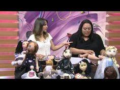Mulher.com 30/10/2014 - Boneca Gatinha Carlota por Eliana Lopes - Parte 2 - YouTube