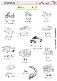Vocabulario transporte 1