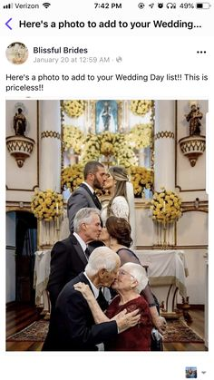 weddings - Special wedding photography pictures gain mind blowing advice from the photo examples weddingphotographybrideandgroomfunny Cute Wedding Ideas, Wedding Goals, Wedding Pictures, Perfect Wedding, Fall Wedding, Dream Wedding, Wedding Inspiration, Wedding Stuff, Marriage Pictures