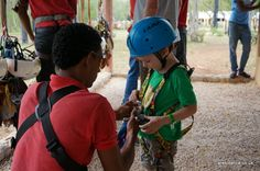 One big Carnival Cruise Lines Carnival Breeze happy family – Thinking about zip wiring, he didn't in the end, but they have the kit!  La Romana Dominican Republic