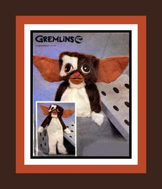 Vintage 1984 -GIZMO -Childrens Costume Sewing Pattern