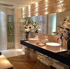 Luxury bathroom sets fancy bathroom decor new luxury bath home regarding 8 fancy bathroom decor ideas Bathroom Design Luxury, Bathroom Interior, Home Interior Design, Bathroom Designs, Bathroom Ideas, Small Bathroom, Bathroom Showers, Bathroom Layout, Tranquil Bathroom