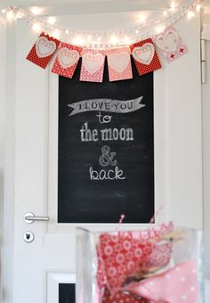 Chalk board to write each other love notes. Love
