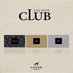 Join our Sacoor Club! #SacoorBrothers #fashion #Club