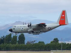 USAF Lockheed LC-130H  Type: Lockheed LC-130H Hercules Registration: 92-1095 Location: Christchurch International Airport Date: 11/01/2014
