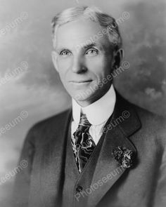 Henry Ford American industrialist 8x10 Reprint Of Old Photo