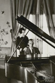 Fred Astaire and his sister (and dancing partner) Adele, photographed by Cecil Beaton.