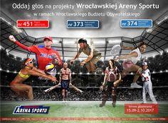 Zagłosuj na projekty: #374 #373 #451 w WBO 2017  https://www.wroclaw.pl/budzet-obywatelski-wroclaw/wbo2016/glosowanie-wbo-2017