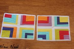 """Cup of Rainbows Placemats 