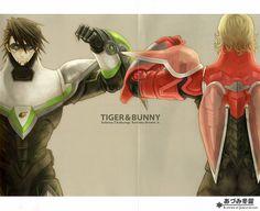 Tiger & Bunny ~~ Wordless unity