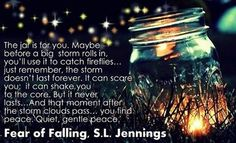 fear of falling Reading Quotes, Book Quotes, Me Quotes, Good Books, Books To Read, My Books, Fear Of Falling, After The Storm, Book Trailers