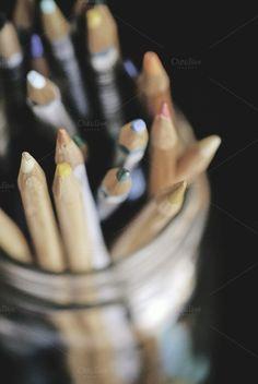 $20 Watercolor Pencils by Alicia Youngken on @creativemarket