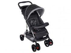 Carrinho de Bebê e Berço Passeio Cosco Moove - Reclinável 3 Posições p/ Crianças até 15kg