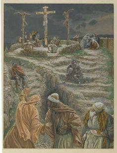 James Tissot, Life of Christ. My God My God why hast thou forsaken me (Eli Eli…