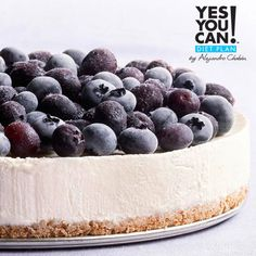 Blueberry Cheesecake - A healthy option for your Yes You Can! Diet Plan dessert
