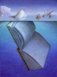 Bir kitap onlarca dost, yüzlerce anı demektir. Birkaç kitaba sahipsin, her şeye sahipsin demektir. Ve hiç kitabın yoksa hiçbir şeyin yok demektir. Gemiyi inşa ederken, lüks kamera değil, iyi bir kütüphane oluşturmalısın. Ve bir gün hayallerin suya gömülse de kitaplara tutunup kurtulabilirsin. Unutma kitaplar suda batmaz.