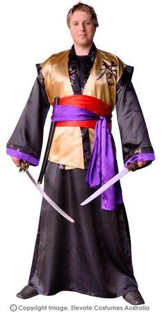 Japanese Samurai Warrior Costume