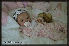 Solid silicone baby doll 'HOPE 4' PROTOTYPE