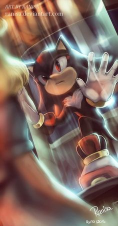 Sonic The Hedgehog Shadow The Hedgehog, Sonic The Hedgehog, Silver The Hedgehog, Sonic Fan Art, The Sonic, Maria Robotnik, Sonamy Comic, Shadow And Maria, Mundo Dos Games
