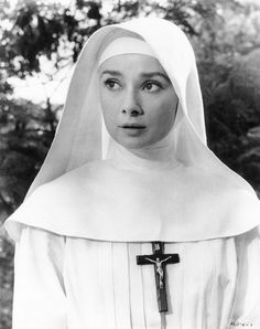 Audrey Hepburn, The Nun's Story, 1959 <3