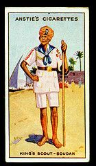 Cigarette Card - Scout Series #42