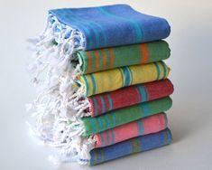 Free Shiping 7 TEA TOWEL / PESHKIR set- 7 Baby Towel / Turkish Towel / Hand Towel / Tea Towel / Kitchen towel / Turkish Blanket / Dish Towel by SabuncakizHamam on Etsy