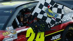 NASCAR Sprint Cup Series   NASCAR.com Jeff Gordon first win of the season.