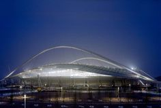 Calatrava - Olympic Sports Complex - Athens, Greece. The layout of ...