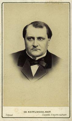 Prins Victor Napoleon. Albumine visitekaart foto (1872) gemaakt door Charles Reutlinger. Verzameling Wilfried Vandevelde.