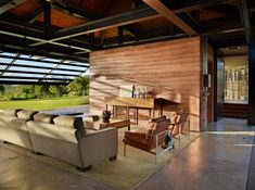 Slaughterhouse Beach House by Olson Kundig Architects | HomeDSGN