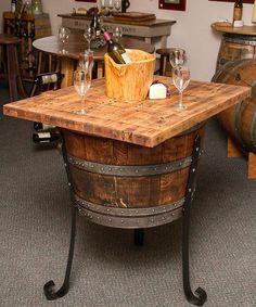 mesa de barril