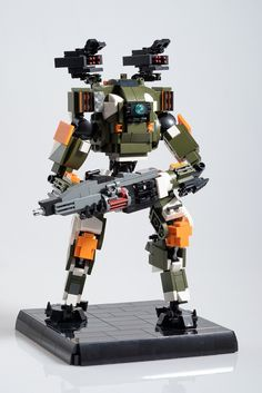from Titanfall 2 has been turned into an excellent LEGO build