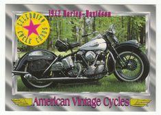 American Vintage Cycles Series I # 22 1942 Harley-Davidson - Champ 1992