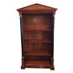 Image of Biedermeier Bookcase by Baker 46.25ʺW × 19.75ʺD × 83.0ʺH