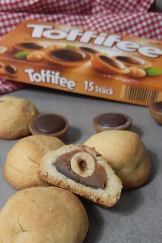 Toffifee im Plätzchenteig - diese Plätzchen überraschen alle Food L, I Party, Biscotti, Doughnut, Oreo, Minis, Muffins, Cocktails, Food And Drink