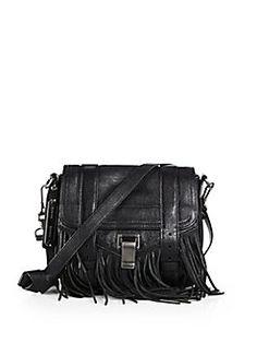 Proenza Schouler PS1 Leather Mini Fringed Crossbody Bag Review Fringe Crossbody  Bag 1b1d6c774d1a2