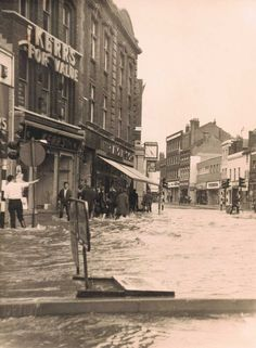 Kent, Dartford Floods in the 1960's