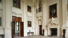 National Portrait Gallery Paintings in the Great Hall at Beningbrough #york