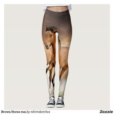 #Brown #Horse #run #legging #kolan
