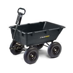 Gorilla Carts 5.5 cu ft Poly Yard Cart  Item #: 14084    Model #: GOR866D  4.6 / 5 29 reviews   Write a review  $129.00   Lowes
