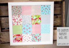 like the material used in this, want this material to make curtains in my nursery