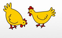 Coq, Stickers, Tweety, Rooster, Pikachu, Images, Humor, Drawings, Awesome