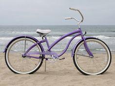 Cute Purple Bike