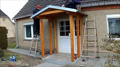 Garage Doors, Shed, Outdoor Structures, Outdoor Decor, Youtube, Home Decor, Porches, Google, Modern Prefab Homes