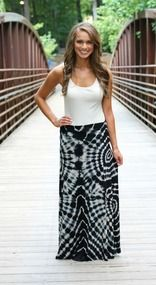 All Mixed Up Over You Maxi Skirt Sale